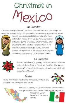Christmas In Sweden And Christmas In Mexico St Lucia S D Mexico Christmas Mexican Christmas Traditions Preschool Christmas