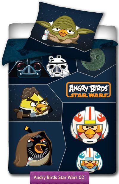 Pościel Angry Birds Star Wars 02, Angry Birds Star Wars Full Size Bedding