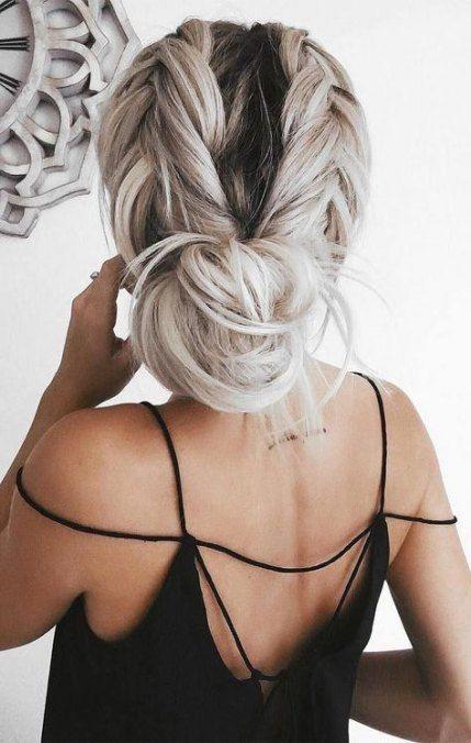 Nouvelles coiffures idées de beauté visage rond court
