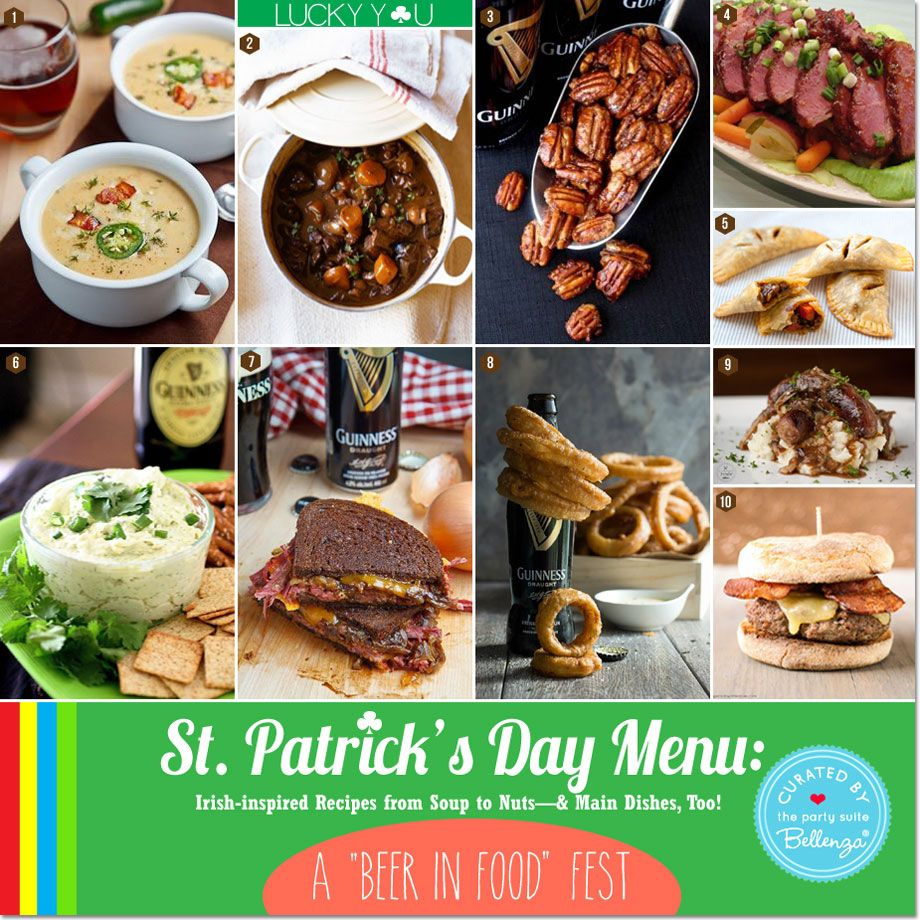 Plan An Epic St. Patrick's Day-themed Birthday Menu: A