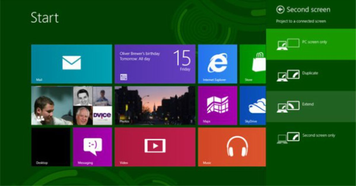 How to Connect Two Monitors in Windows 8 (With images