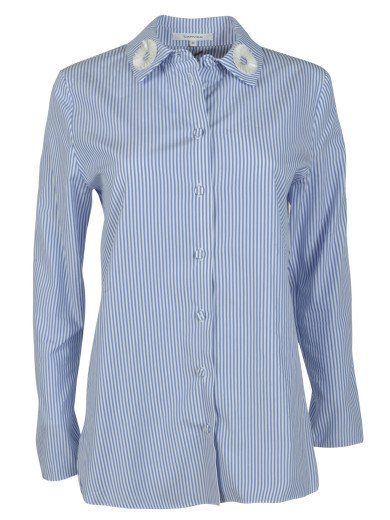 CARVEN Carven Striped Shirt. #carven #cloth #shirts