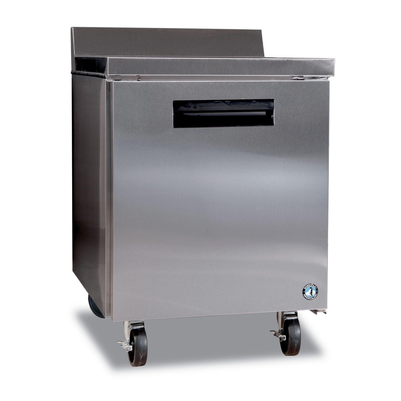Hoshizaki CRMR27W Work tops, Refrigerator dimensions