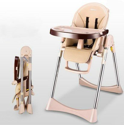 Bibs & Burp Cloths Foldable Kids Dining Chair Cover Portable Eating Mats Dining Chair Tray Anti-food Drop Folding Childrens Dining Chair Anti-food Matching In Colour Mother & Kids