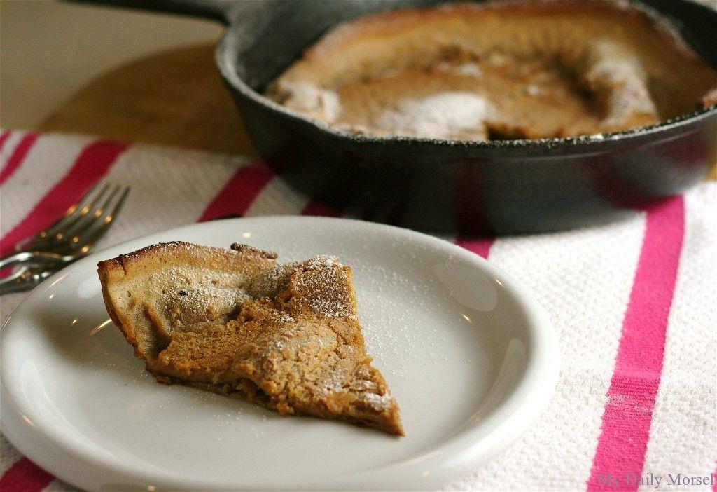 Gingerbread Spice Dutch Baby   Yummy breakfast, Smitten ...