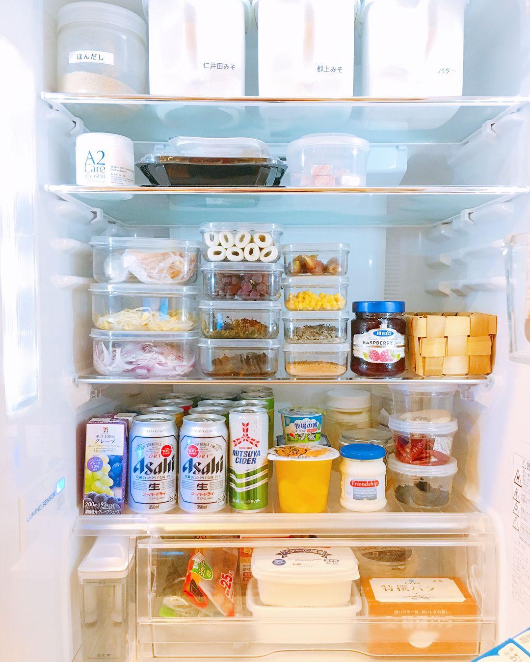 使い勝手が劇的up 節約 時短を叶える 冷蔵庫収納アイディア 10選 冷蔵庫 収納 収納 アイディア 収納