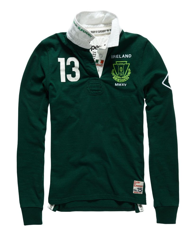 f1b2470aa91be4 Superdry Valiant Rugby Shirt - Womens Superdry - Rugby
