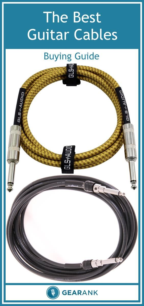 Detailed Guide to The Best Guitar / Instrument Cables  Get