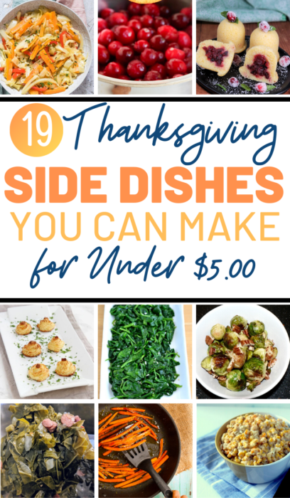 19 Thanksgiving Dishes You Can Make For Under 5 Swaggrabber In 2020 Side Dish Recipes Easy Thanksgiving Dishes Honey Roasted Carrots