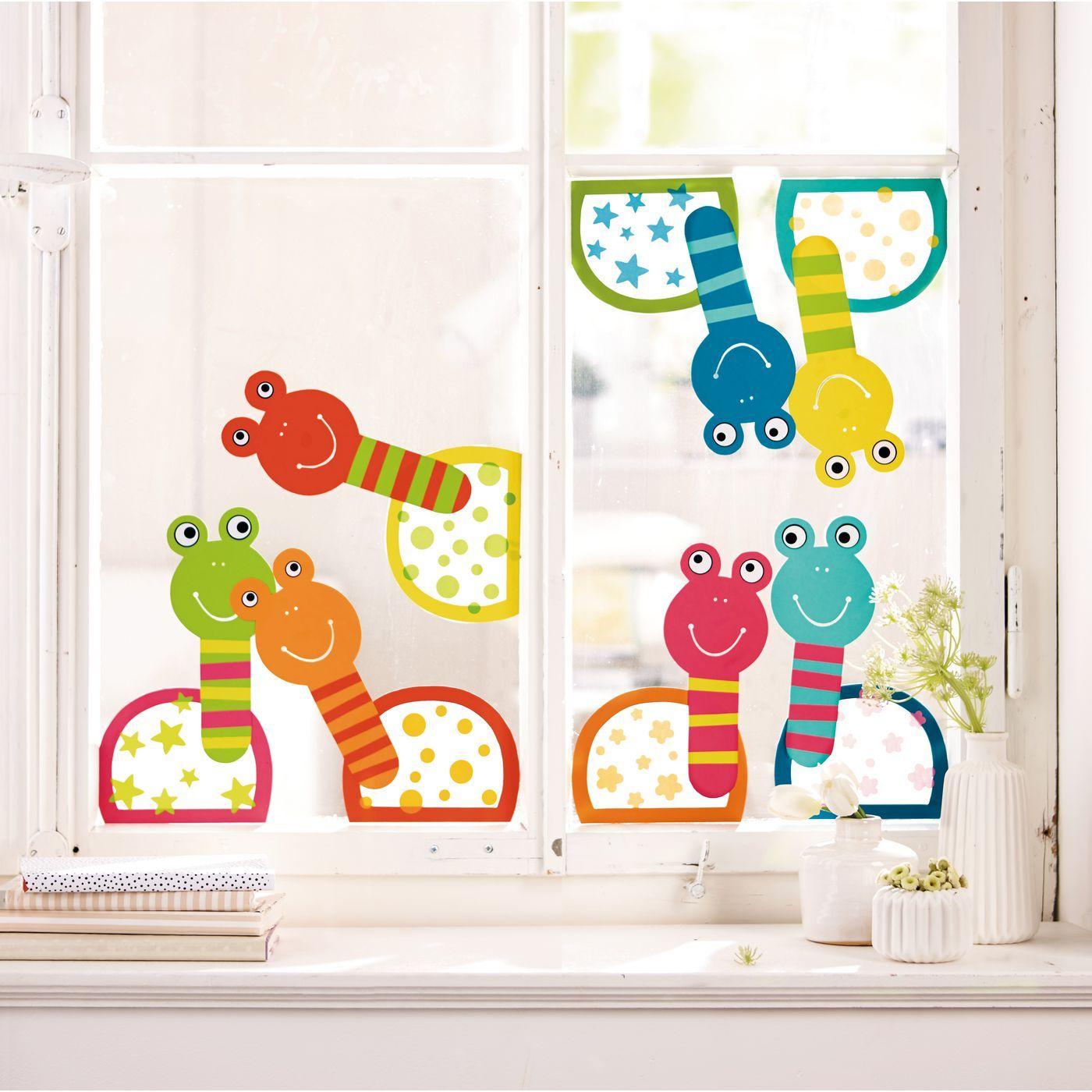 Sachenmacher Fenster-Schnecken #herbstdekofensterkinder
