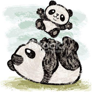 Image Panda Dessin