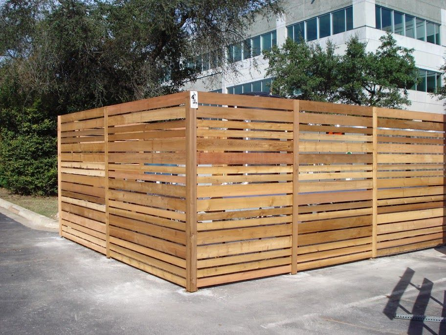 Austin Residential Wood Fence Project Photo Gallery Viking Fence Wood Fence Wood Wood Post