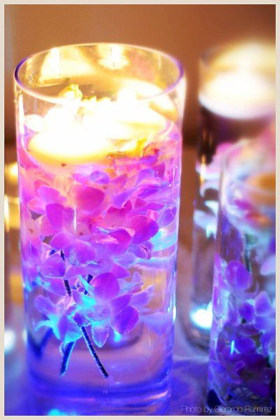 leds and candles