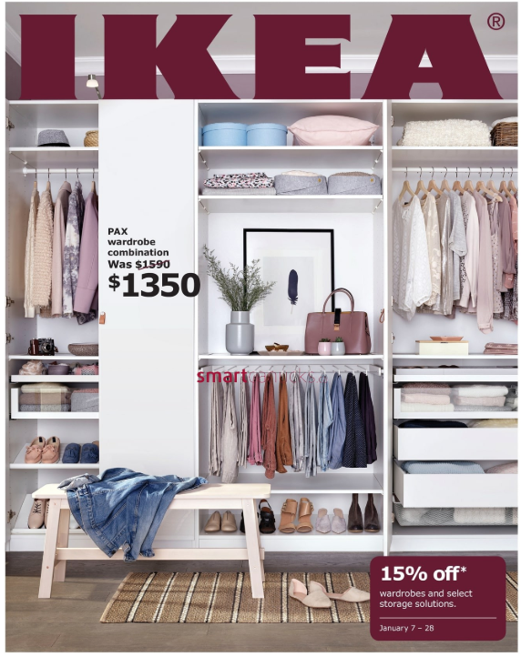 IKEA Canada Storage Event Save 15 off Wardrobes and