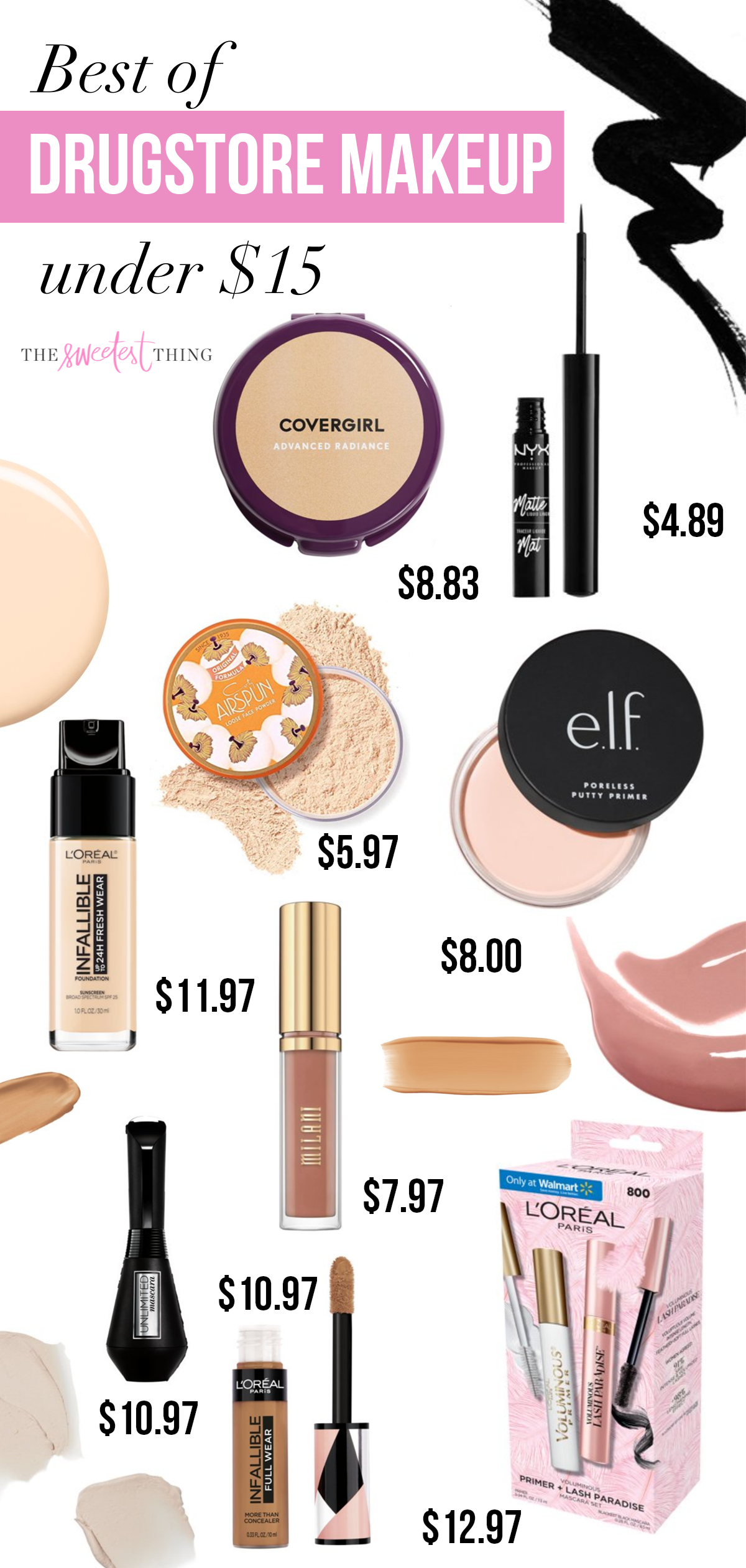 Best Drugstore Makeup Us Beauty The Sweetest Thing In 2020 Drugstore Makeup Best Drugstore Makeup Beauty Products Drugstore