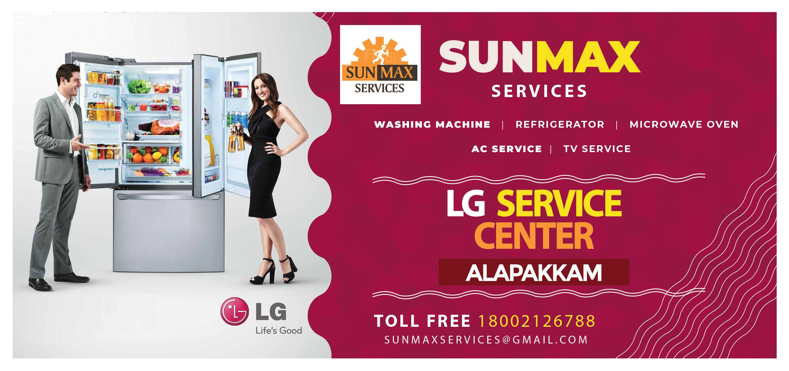 Sunmax Lg Service Center Alapakkam Is Providing All Kinds Of Repair And Service For Samsung Washing Machine Samsung Washing Machine Lcd Television Tv Services