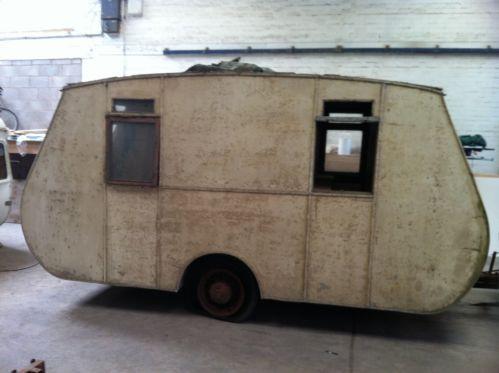 Vintage caravan classic retro restoration project eccles safari carlight hotrod