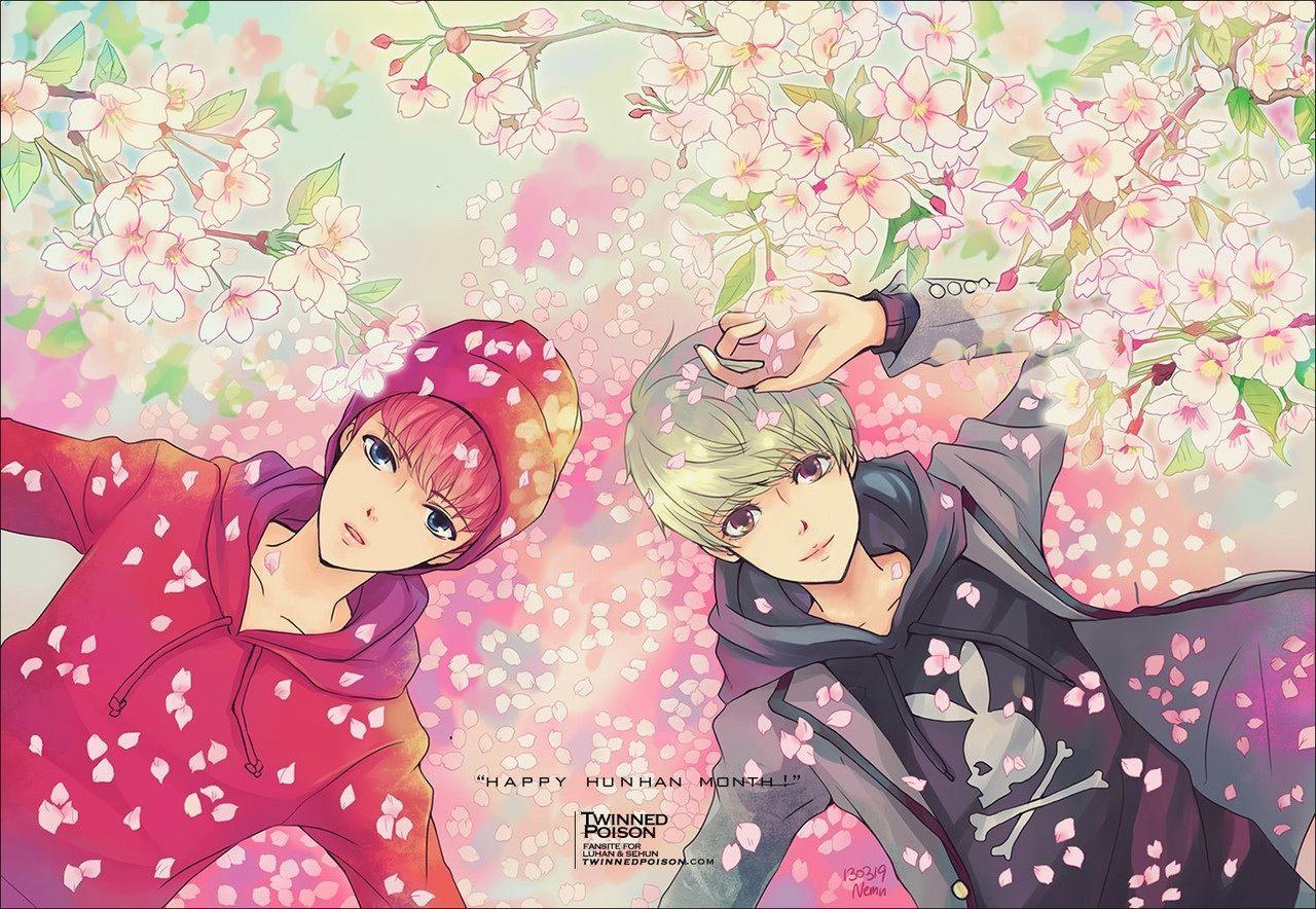 #kpop #exo #exom #exok #weareone #Luhan #lulu #xiaolu #xiluhan #dearmydeer #deerlulu #Sehun #OhSehun #Sehunnie #Maknae #HunHan #fanart #cartoon