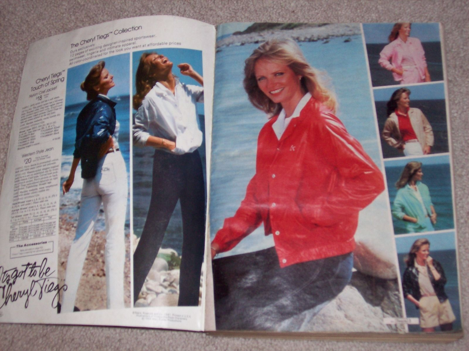 This auction is for a Vintage Sears 1982 Spring Summer Catalog