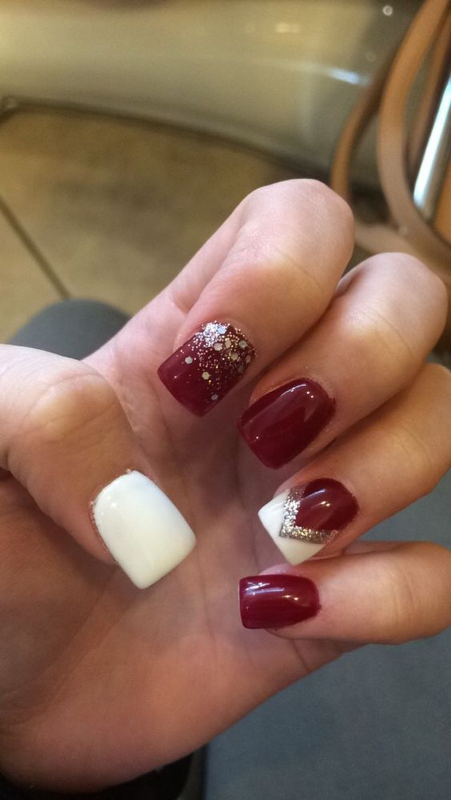 Gorgeous christmas nails ideas 9 | Galleries, Gorgeous nails and ...