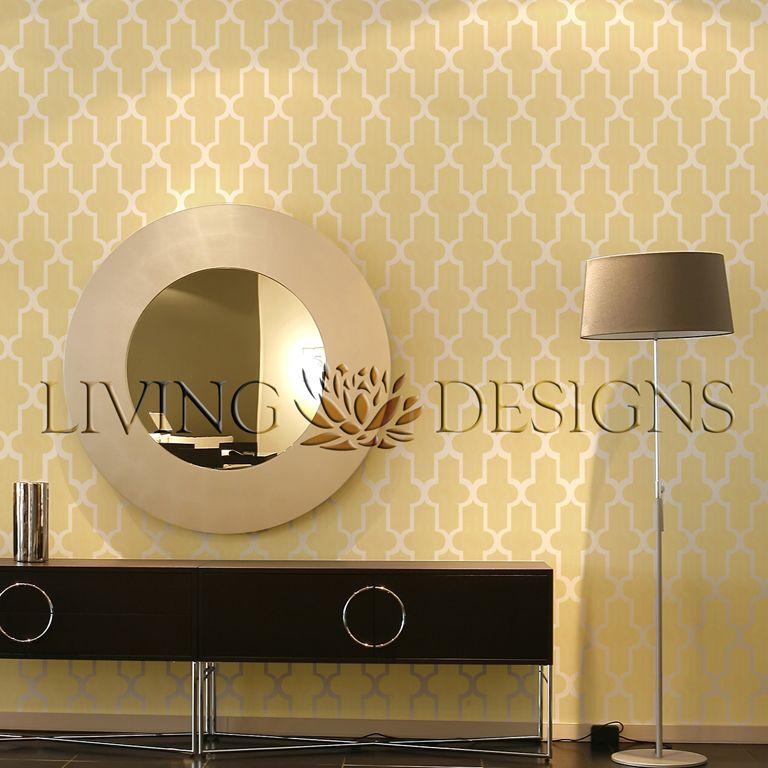 plantilla decorativa para el diseo de interiores y pintar paredes como papel tapiz y vinilos decorativos