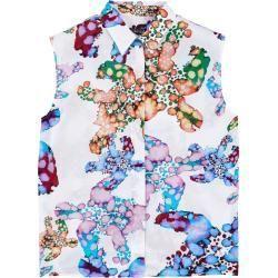 Freizeitkleider für Damen -  Damen Ready to Wear – Watercolor Turtles Baumwollschleier für Damen – Hemd – Felicity – We - #Damen #Freizeitkleider #für #MiraDuma #MiroslavaDuma #RedCarpetDresses #RedCarpetLooks