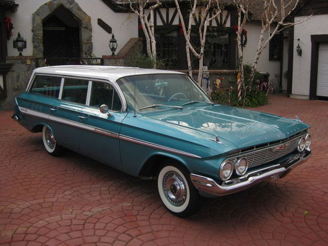 1961 Chevrolet Impala Wagon Station Wagon Station Wagon Cars Classic Chevrolet