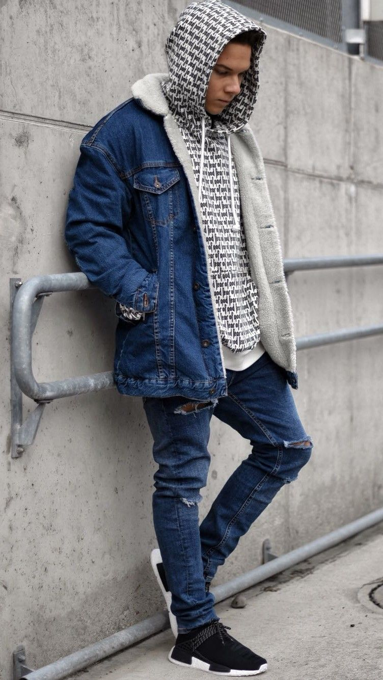 Denim'in OutfitStreetwear Trill Nmd Adidas WearHype Fashion W9E2HDI