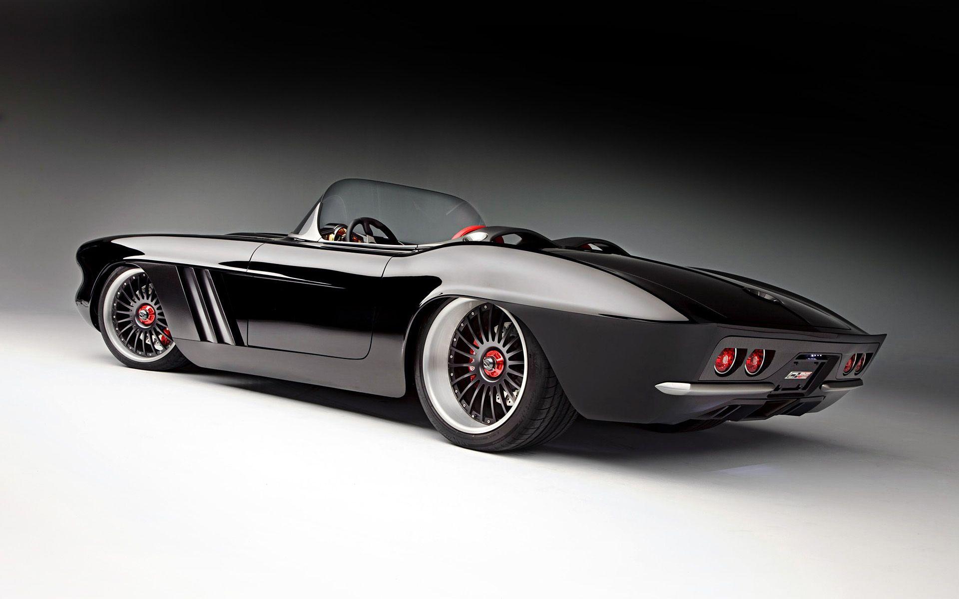 Modern Day Custom Carbon Fibre Corvette   Cool American Cars