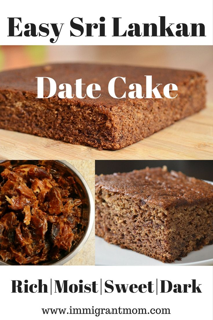 The Best Date Cake Ever Immigrant Mom Recipe Date Cake Desserts Around The World Cake Recipes