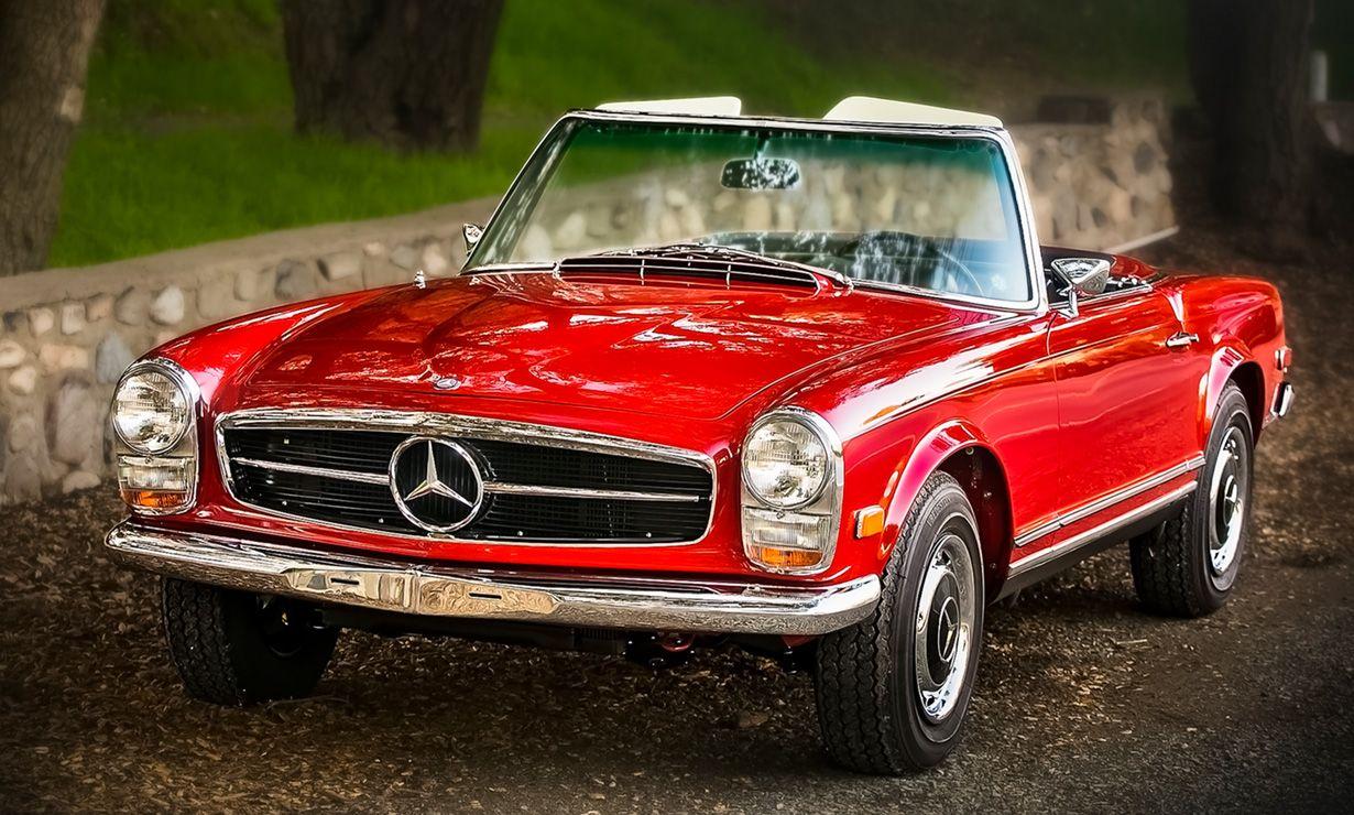 Mercedes benz 280sl car vehicl wrap mercedes benz merced pagoda - 50 Years Of The Pagoda Mercedes