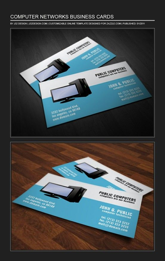 Computer Repair It Support Network Administrators Business Card Zazzle Com Make Business Cards Business Cards Online Printable Business Cards