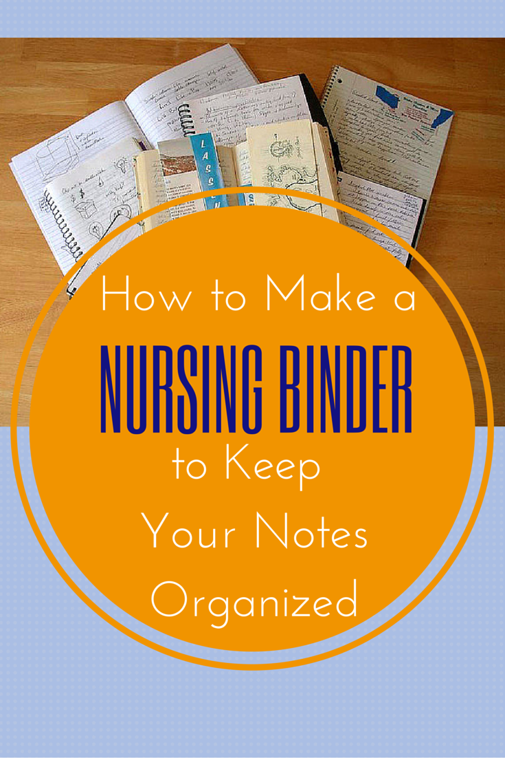 603e5b0f88 HOW TO MAKE A NURSING BINDER TO KEEP YOUR NOTES ORGANIZED #Nurse #Binder  #Organize
