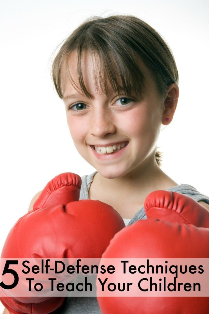 5 self defense moves kids can learn even toddlers