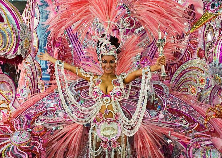 Mardi Gras traditional costume. | Mardi Gras Theme | Pinterest