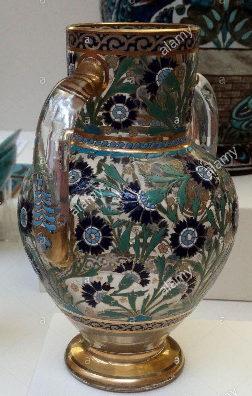 Vase By J L Lobmeyr Vienna Cam Objeler