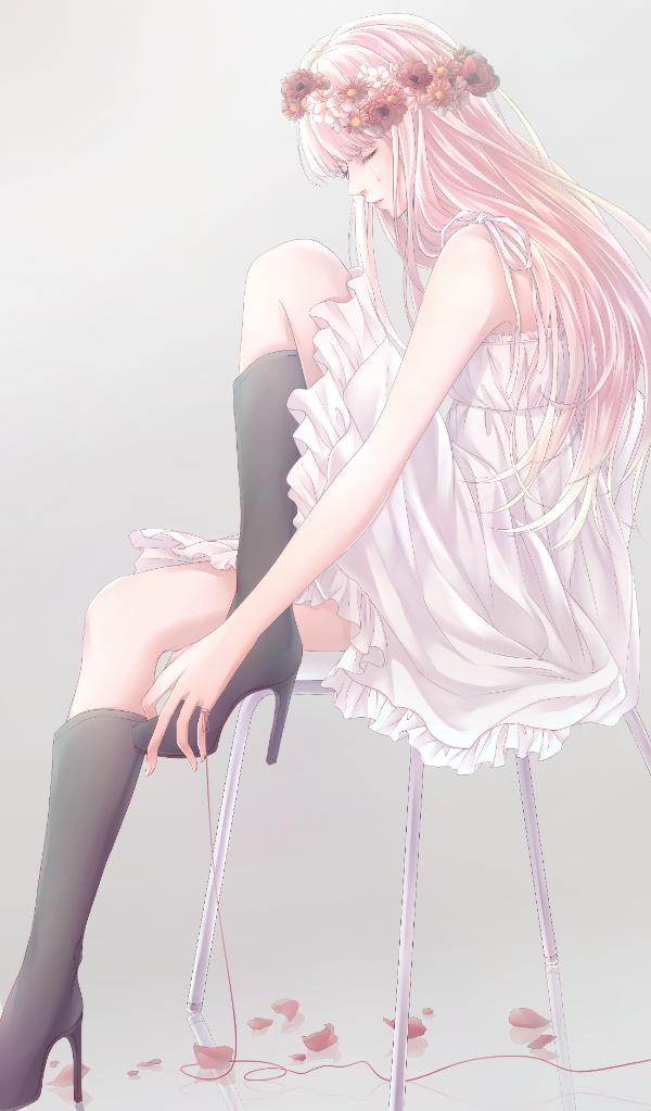 MikuPix × 初音ミク Image Source — さよなら愛した人 Artist 鹿 Hatsune