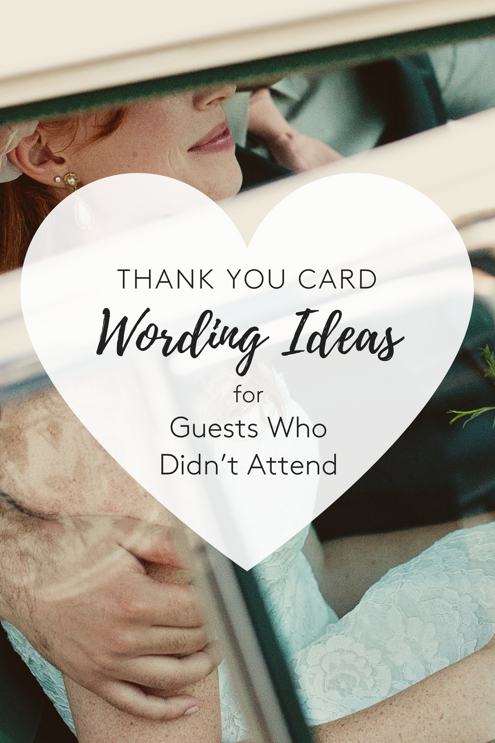 5 Thank You Card Wording Ideas For Guests Who Didn T Attend