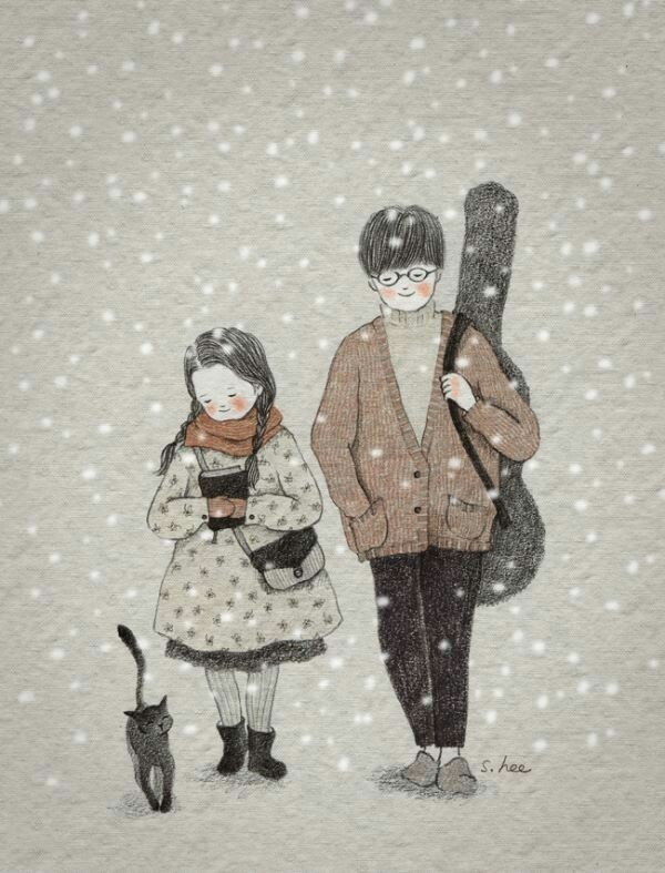 ImageFind images and videos about girl, boy and art on We