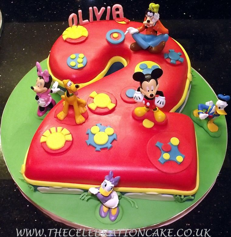 Mickey Mouse Clubhouse Birthday Cake Publix