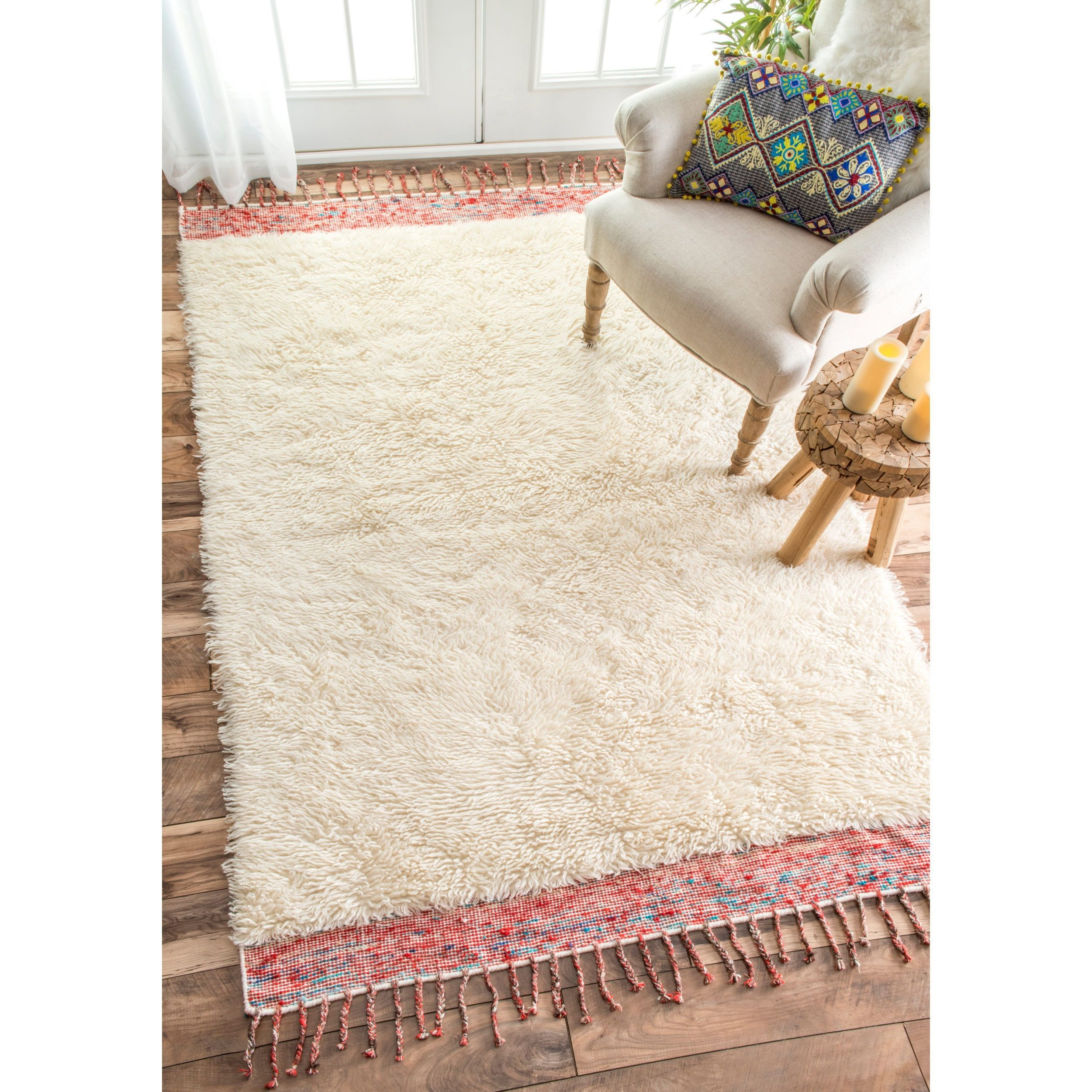 pin hand tufted x novogratz retro rug products