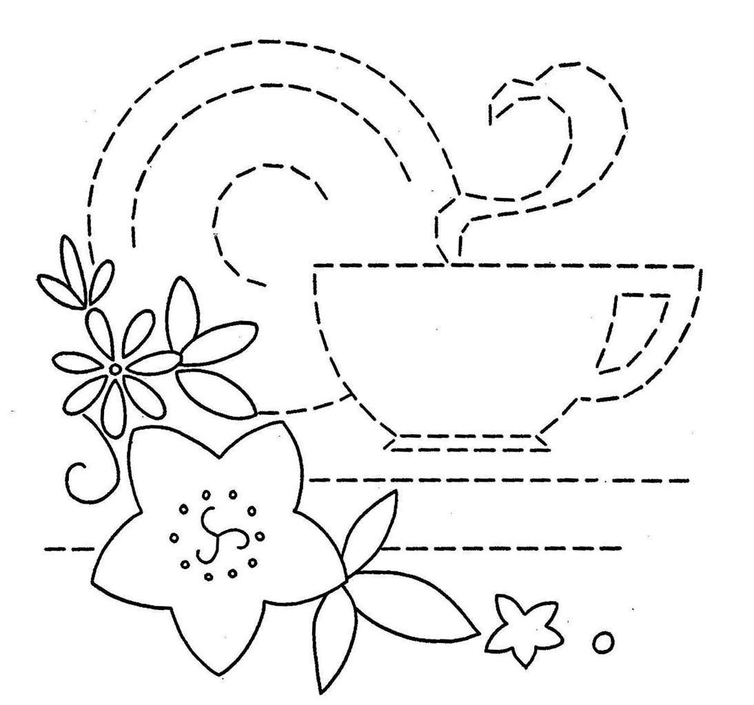 Vintage embroidery pattern dibujos jc pinterest vintage