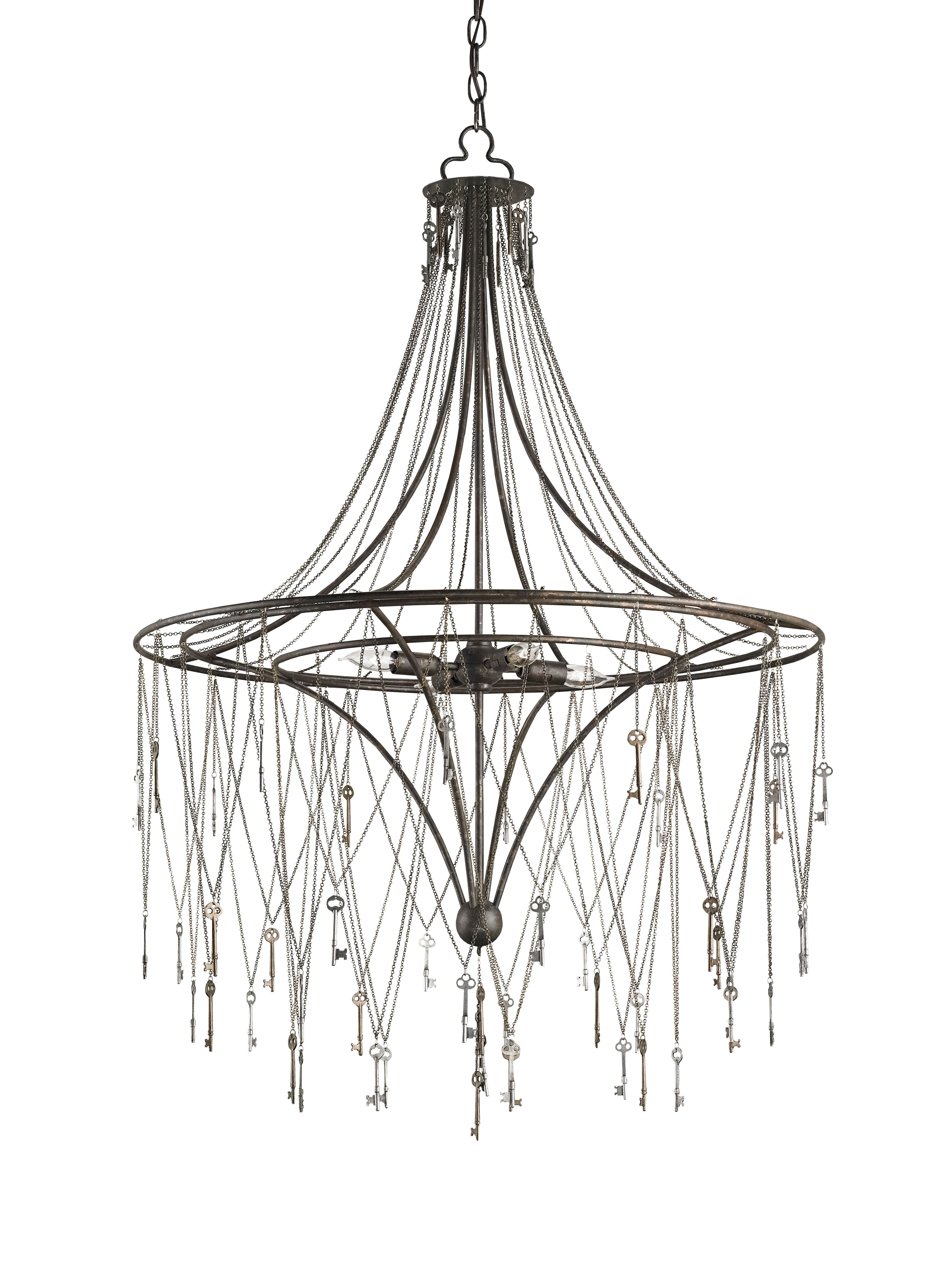 New - Currey & Company Chiave Chandelier