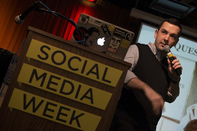 The Ethics & Challenges of Dealing with Big Data and Privacy by Social Media Week, via Flickr