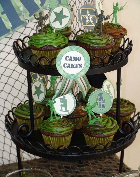 Best 25 Camo Cupcakes Ideas On Pinterest Army Cupcakes