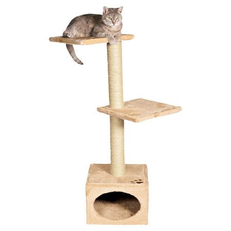 Offer your feline friend a place to lounge and play with this 2-tier cat tree, featuring a hideaway cubby and sisal-wrapped scratching posts. Online@Joss & Main. On sale for $26.95. Was $58.22. Free shipping, but for today only- 12/7/14.     ...