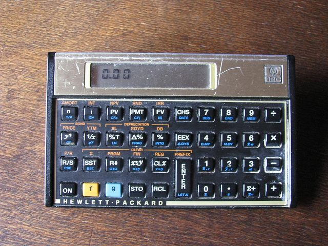 HP-12C Financial calculator Calculator - financial calculator