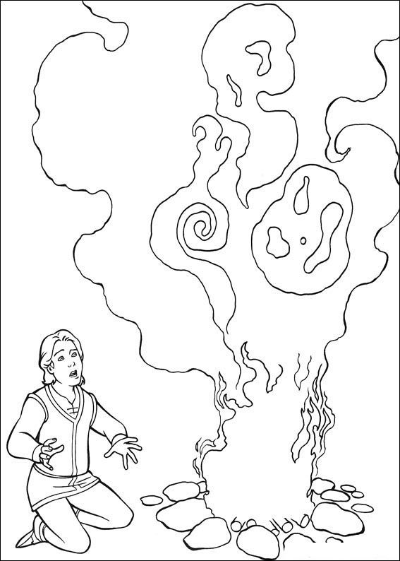 Dibujos para Colorear Shrek 8 | Dibujos para colorear para niños ...