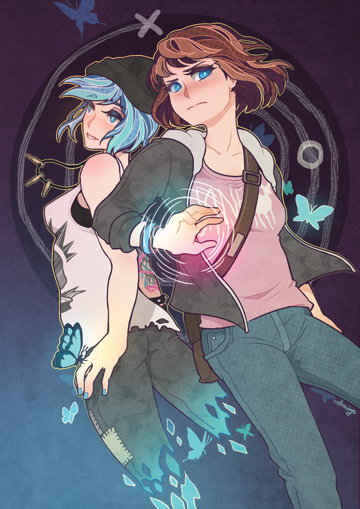 """Pricefield (Life is Strange) - """"ᗡ И I W Ǝ Я"""" by CottonWings"""