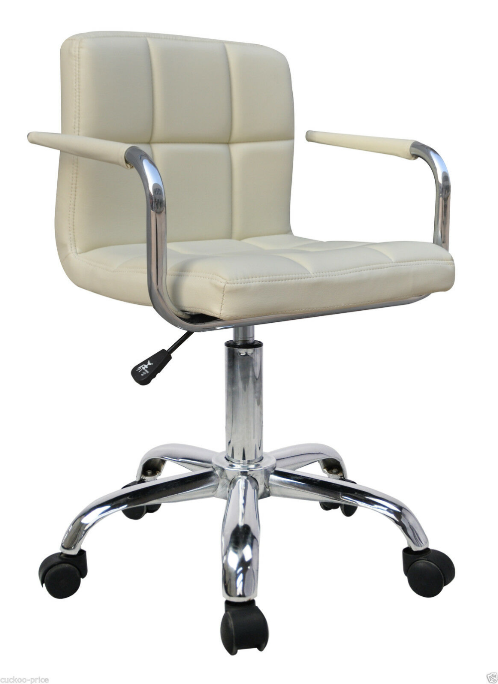 Details about QUALITY NEW DESIGN SWIVEL PU LEATHER OFFICE